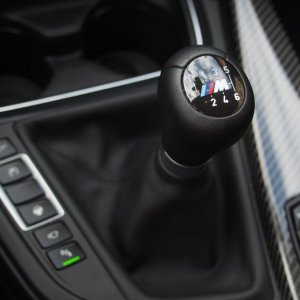 bmw m4 coupe gear shifter