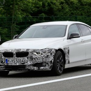 BMW 4 Series Gran Coupé Prototype